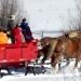 Hitchin' Post Stables - Take a sleigh ride tour through the forest.  Or enjoy a sleigh ride and cowboy dinner combo.