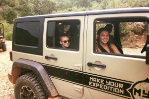 Sedona Off Road Rentals - kids love the feeling