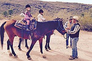 AZ High Mountain Trail Rides - kids 6+ & adults
