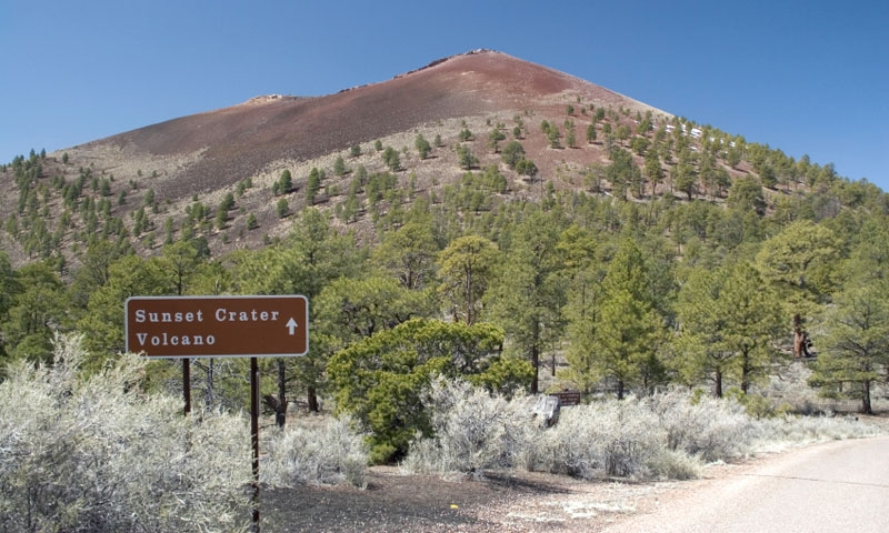 Sunset Crater Volcano Arizona Alltrips