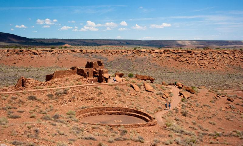 Wupatki National Monument in Flagstaff