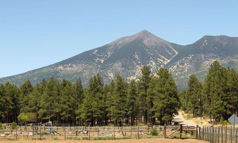 Mount Humphreys in Flagstaff Arizona