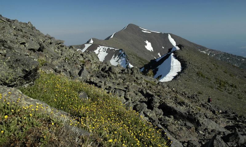 Mount Humphreys in Flagstaff Arizona