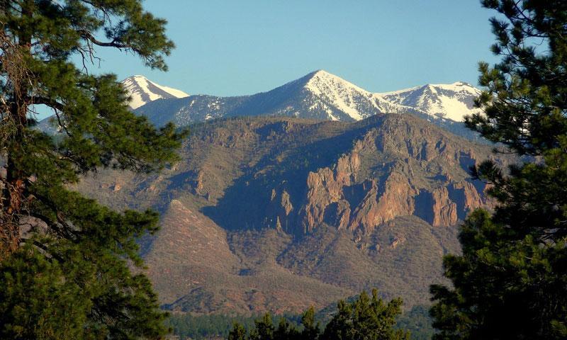 Mount Humphreys is near Flagstaff Arizona