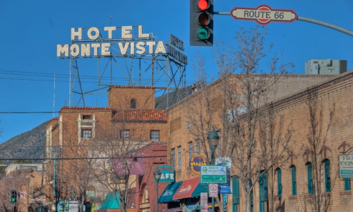 Flagstaff AZ Attractions Historic Downtown