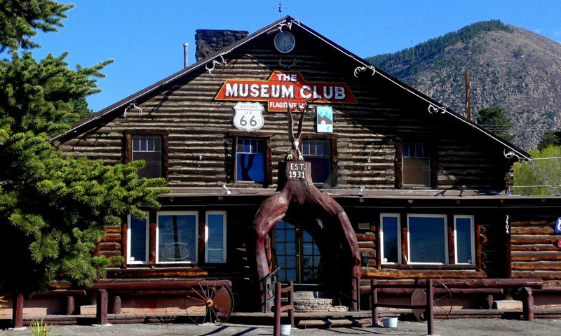 Museum Club Roadhouse on Route 66