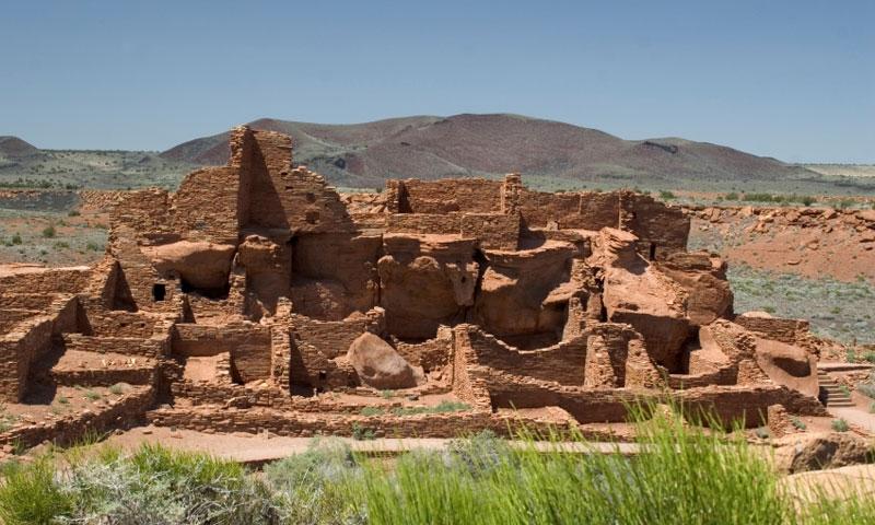 Lomaki Pueblo at Wupatki Monument