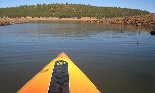 Flagstaff Activities Kayaking Upper Mary Lake