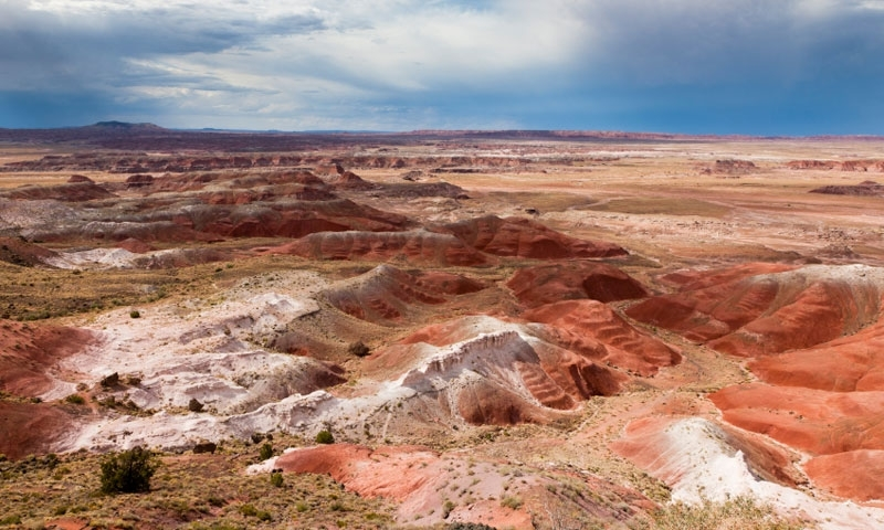 Kachina Point in the Petrified Forest National Park