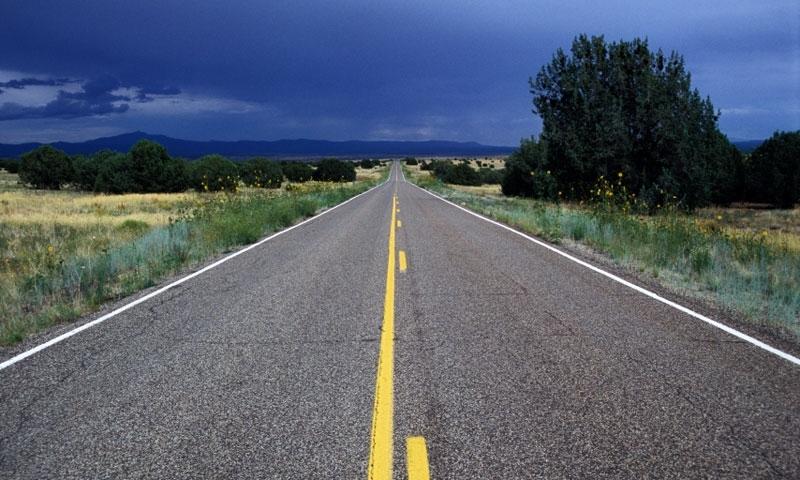 Route 66 near Nelson Arizona