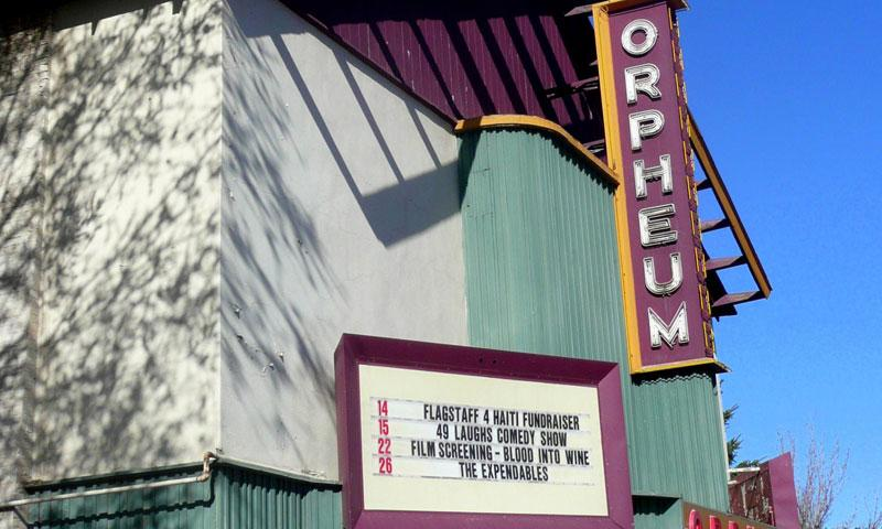 Orpheum Theater in Flagstaff Arizona