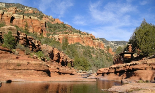 Slide Rock State Park In Arizona Alltrips
