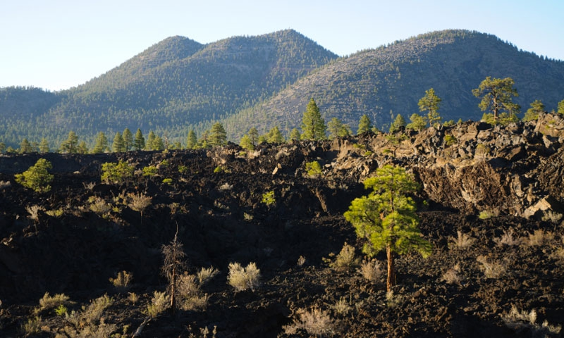 Sunset Crater National Monument in Flagstaff