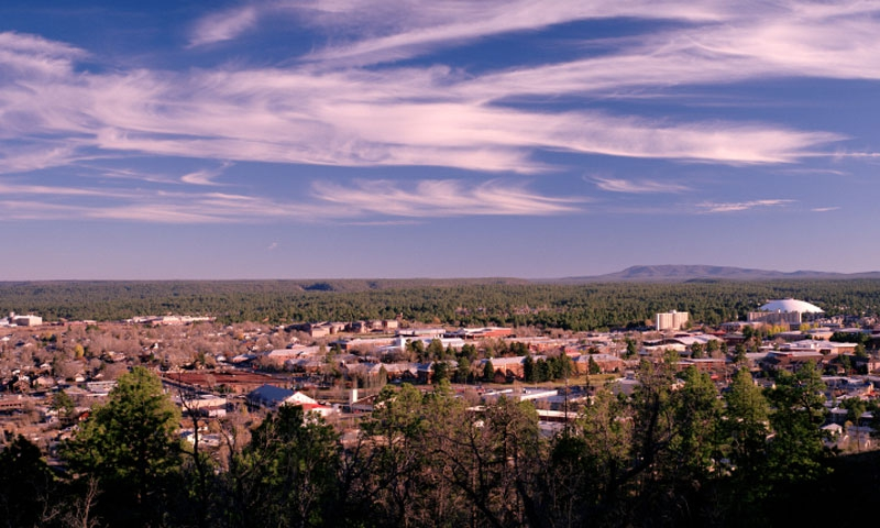 Overlooking Flagstaff
